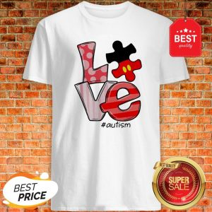 Official Mickey Mouse Love #Signlanguage Shirt