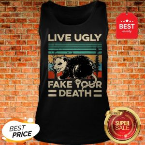 Official Opossum Live Ugly Fake Your Death Vintage Tank Top
