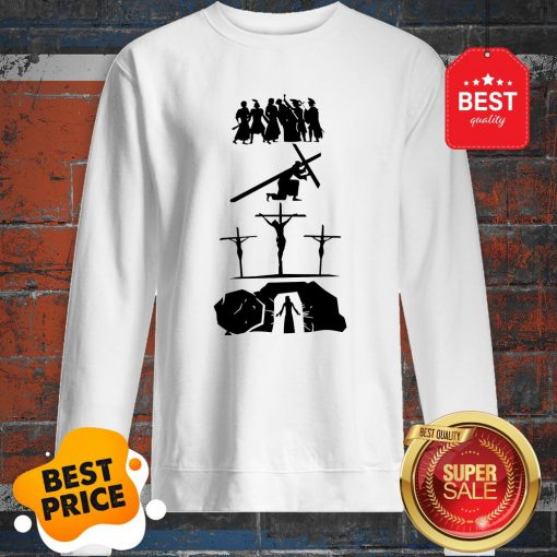 Official Passion Of Jesus Easter Sunday Sweatshirt