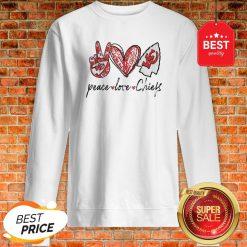 Official Peace love Kansas City Chiefs Sweatshirt