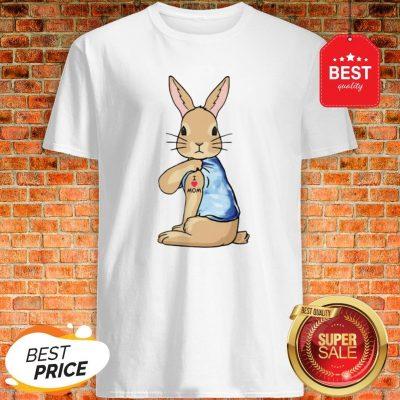Official Rabbit Tattoos I Love Mom Shirt
