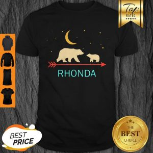 Official Rhonda Name Gift Personalized Mama Bear With 1 Cub Shirt