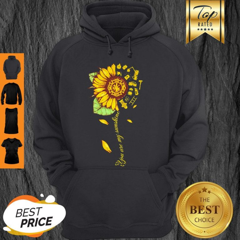 Official Sunflower You Are My Sunshine Hoodie