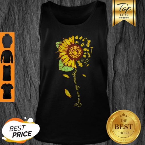 Official Sunflower You Are My Sunshine Tank Top