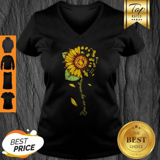 Official Sunflower You Are My Sunshine V-neck