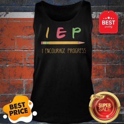 Official Teacher Pencil IEP Encourage Progress Tank Top