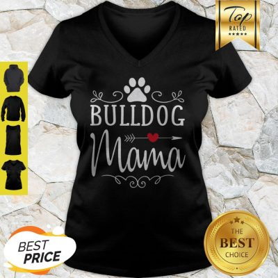 Original Bulldog Mama – Bulldog Mama Gift For Bulldog Lover V-neck