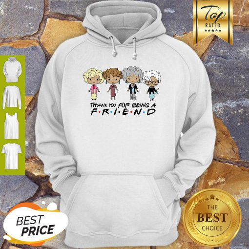 The Golden Girl Chibi Thank You For Being A Friend Hoodie