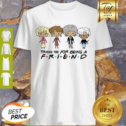 The Golden Girl Chibi Thank You For Being A Friend Shirt