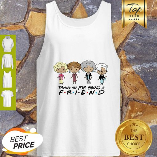 The Golden Girl Chibi Thank You For Being A Friend Tank Top