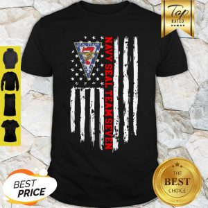 United States Navy Seal Team Seven American Flag Shirt