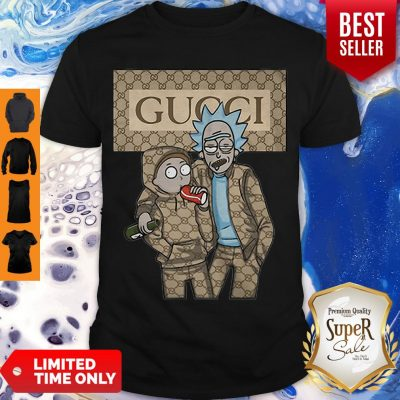 Official Rick And Morty Gucci Shirt