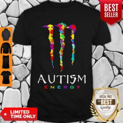 Official Monster Autism Energy Shirt