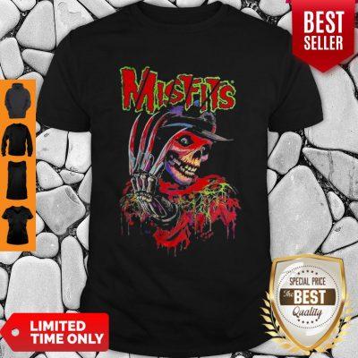 Official Skull Watercolor Misfits Shirt