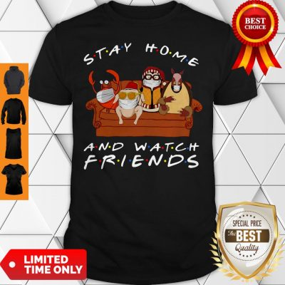 Stay Home Watch Friends Hugsy Shirt