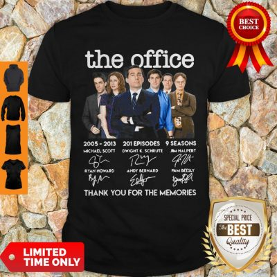 The Office 2005-2013 201 Episodes 9 Seasons Signatures Shirt