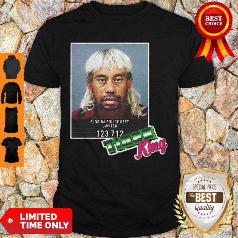Tiger Woods Mashup Joe Exotic Tiger King President 2020 Shirt