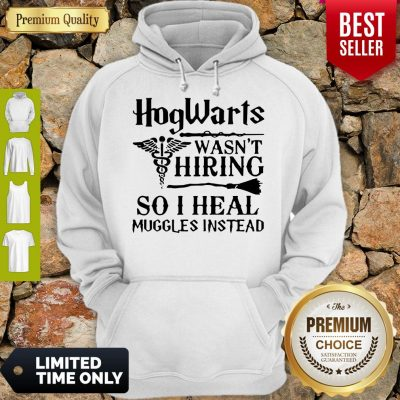 Nice Nurse Hogwarts Wasn't Hiring So I Heal Muggles Instead Hoodie