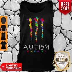 Official Monster Autism Energy Tank Top