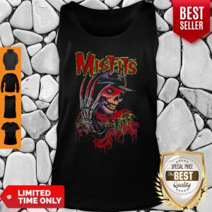 Official Skull Watercolor Misfits Tank Top