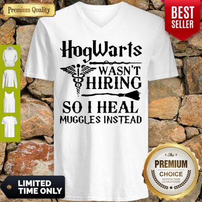 Nice Nurse Hogwarts Wasn't Hiring So I Heal Muggles Instead V-neck