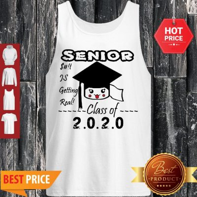 Senior Class Of 2020 Toilet Paper Is Getting Real Tank Top