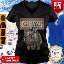 Official Rick And Morty Gucci V-neck
