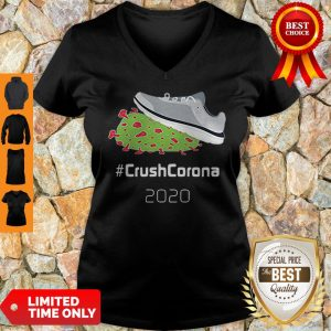 Shoes Trampling Crushcorona 2020 V-neck