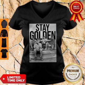 Official Nice Stay Golden The Golden Girls V-neck