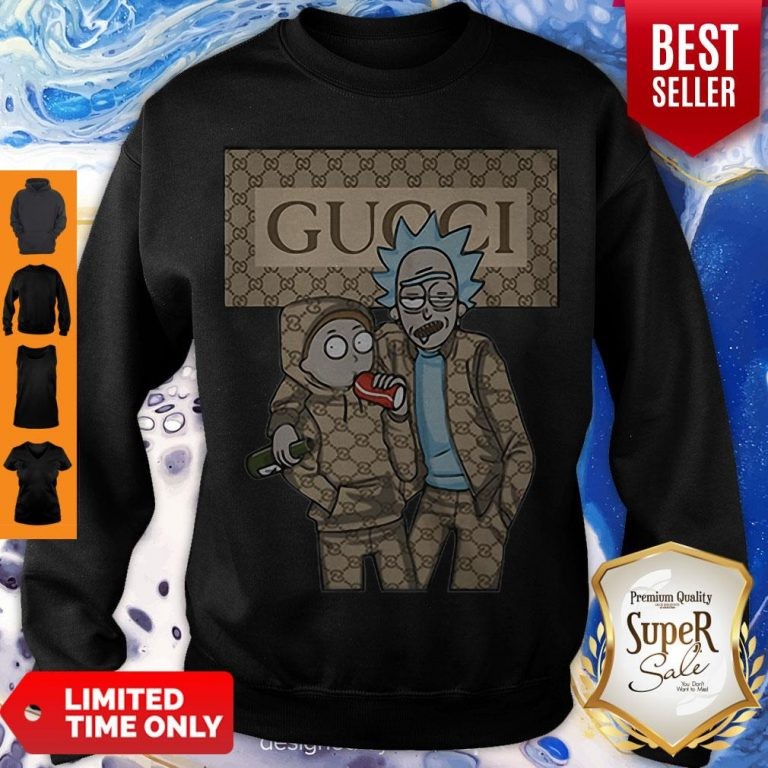 Official Rick And Morty Gucci Sweatshirt