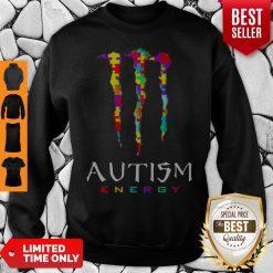 Official Monster Autism Energy Sweatshirt