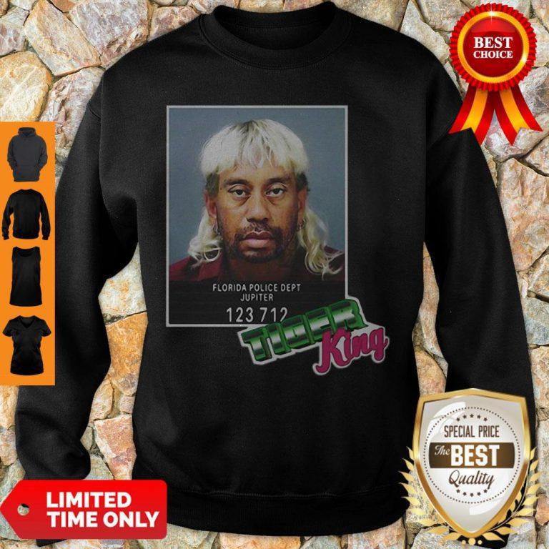 Tiger Woods Mashup Joe Exotic Tiger King President 2020 Sweatshirt