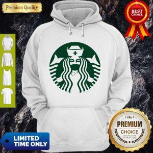 Pretty Starbuck Coffee Nurse Hoodie