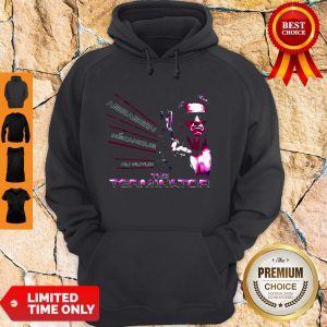 Nice American Assassin Mecanique Du Futur The Terminator Hoodie