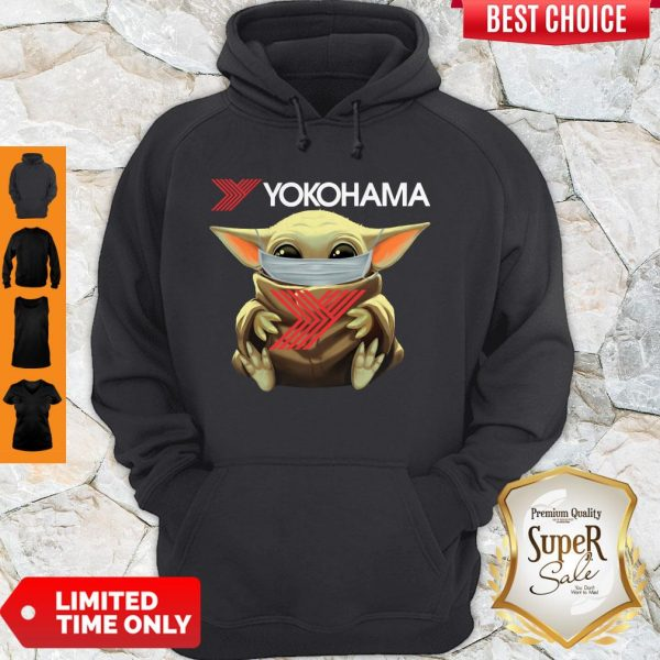 Official Baby Yoda Face Mask Yokohama Hoodie