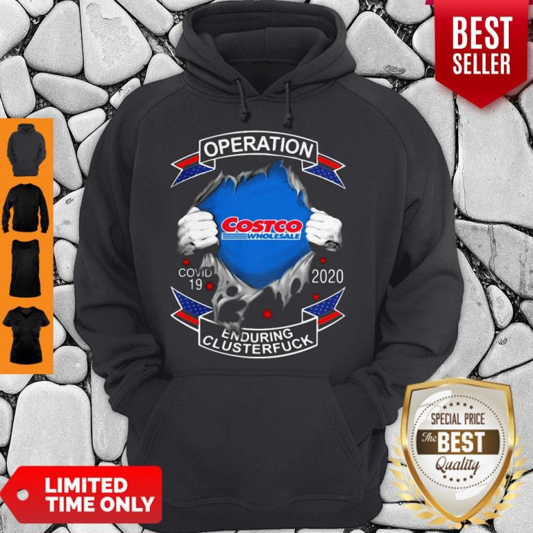 Funny Costco Wholesale Operation Covid-19 2020 Enduring Clusterfuck Hoodie
