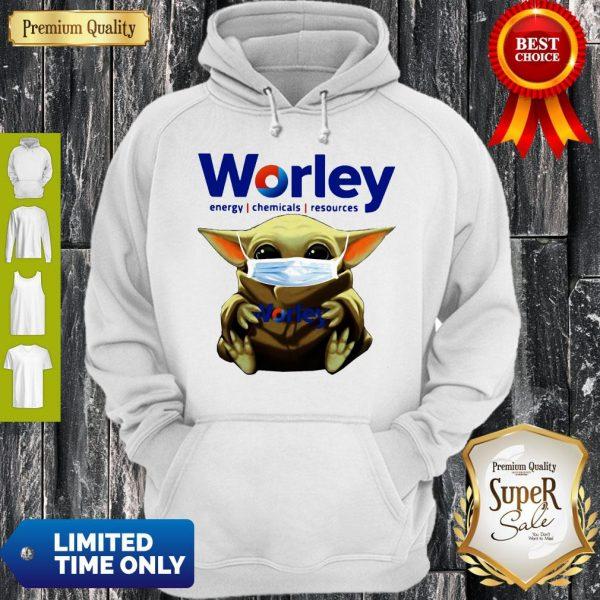 Good Baby Yoda Mask Worley Energy Coronavirus Hoodie