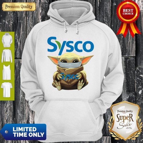 Nice Baby Yoda Mask Sysco Coronavirus Hoodie