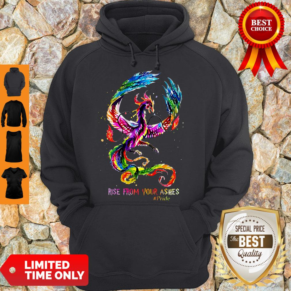 Nice Dragon Rise From Your Ashes Hoodie