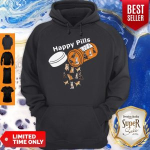 Pretty Happy Pills Version Cats Hoodie