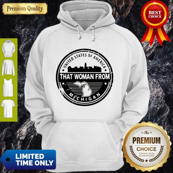 Official Gretchen Whitmer – That Woman From Michigan Hoodie