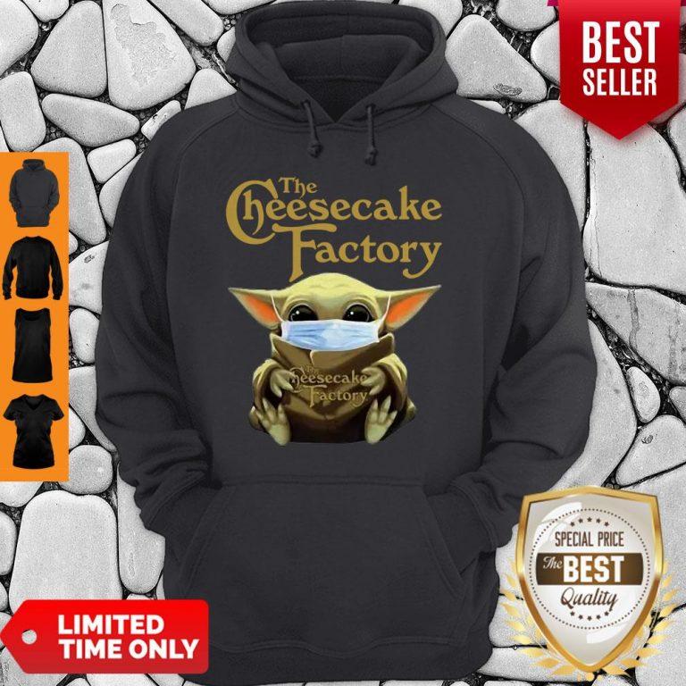 Nice Baby Yoda Mask The Cheesecake Factory Coronavirus Hoodie