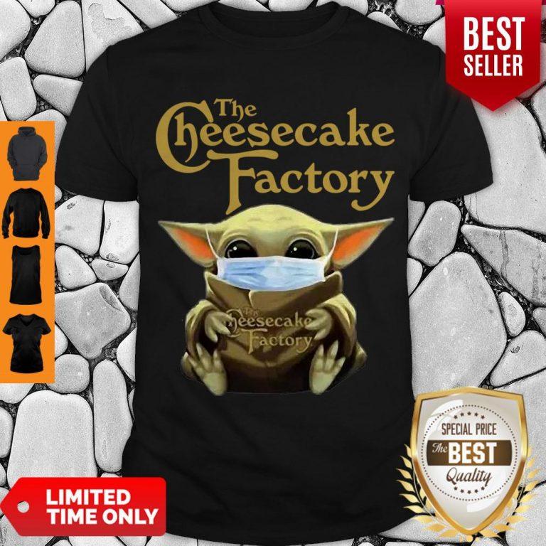 Nice Baby Yoda Mask The Cheesecake Factory Coronavirus Shirt