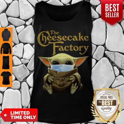 Nice Baby Yoda Mask The Cheesecake Factory Coronavirus Tank Top