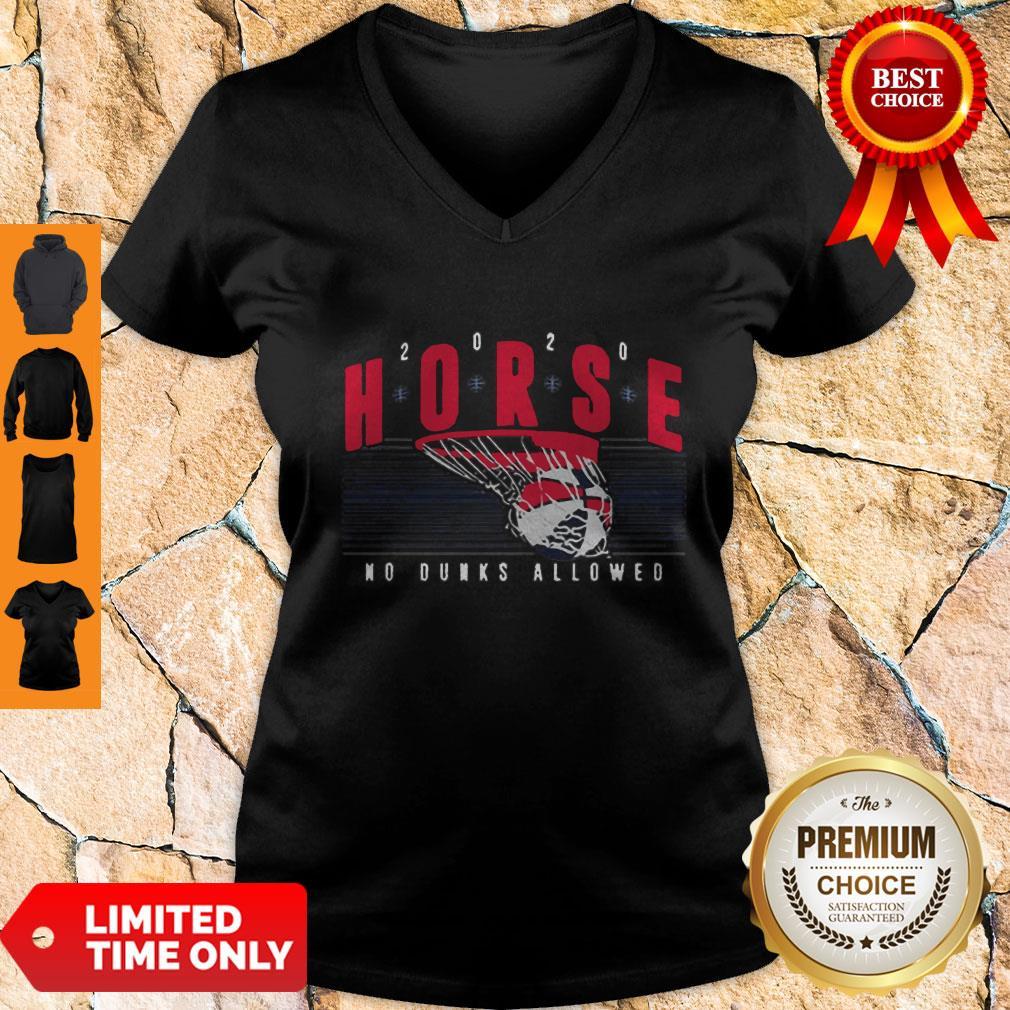Nice Horse 2020 No Dunks Allowed V-neck