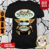 Nice Star Wars Baby Yoda Hug Sprouts Farmers Market COVID-19 Shirt