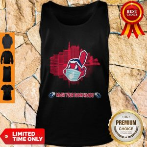 Official Wash Your Damn Hands Cleveland Indians T Tank Top