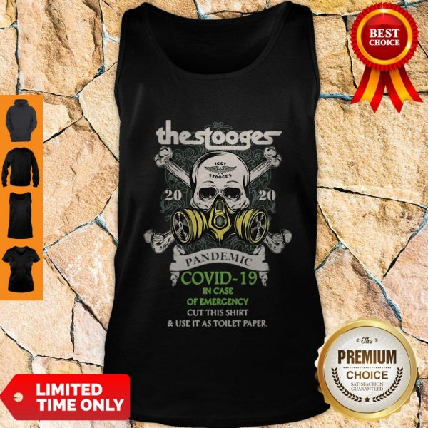 Premium The Stooges 2020 Pandemic Covid-19 And In Case Of Emergency Tank Top