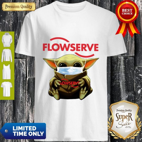 Top Baby Yoda Mask Flowserve I Can't Stay At Home Coronavirus Shirt