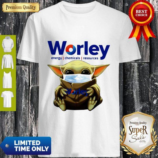 Good Baby Yoda Mask Worley Energy Coronavirus Shirt